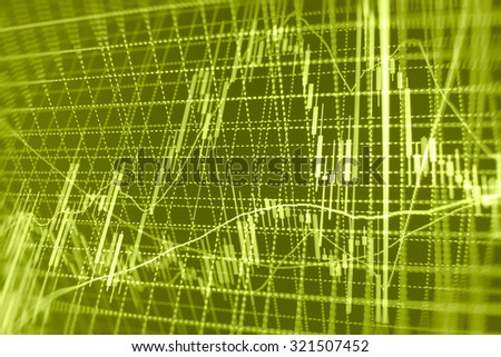 Stock exchange graph screen display bar figures management corporate growth forex money concept finance illustration investor balance blue financial nasdaq report data company goal forecast chart  - stock photo