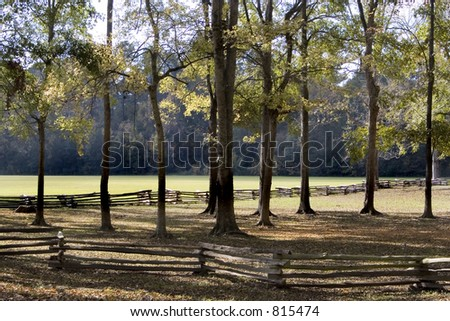Stock image of Natchez Trace National Scenic Trail. - stock photo