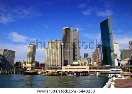 Stock image of Sydney's Bay area, Australia - stock photo