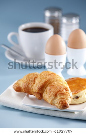 stock image of the breakfast