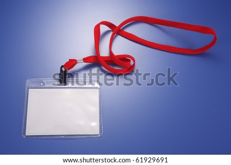 stock image of the pass tag - stock photo