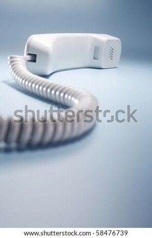 stock images of the phone receiving - stock photo