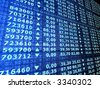 stock numbers - stock photo