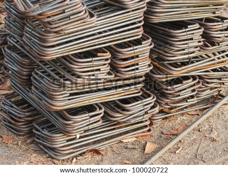 Stock reinforcing steel