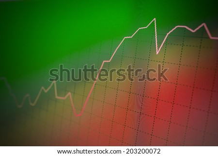 Stock trade abstract background. - stock photo
