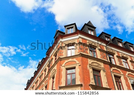 stockholm architecture - stock photo