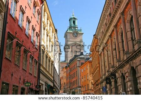 stockholm city, sweden - stock photo