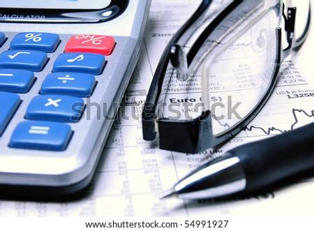Stockmarket Analysis - stock photo