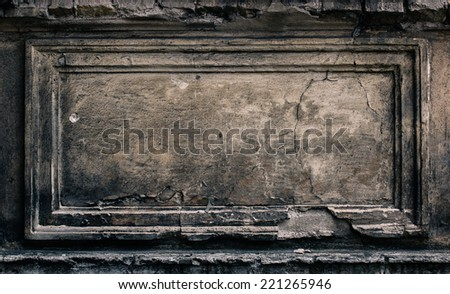 Stone background texture / frame