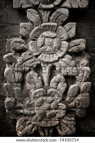 stone carving - stock photo