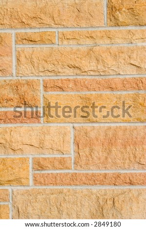 Stone masonry background - stock photo