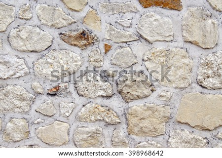 Stone mosaic   - stock photo