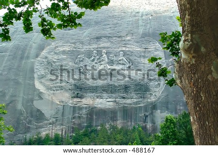 Stone Mountain Georgia USA - stock photo