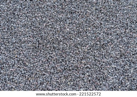 Stone rubble background, surface with a large number of stones  - stock photo