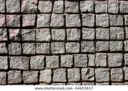 Stone seamless pattern - stock photo