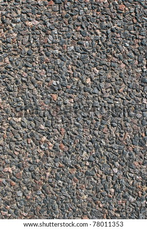Stone texture, asphalt background close up