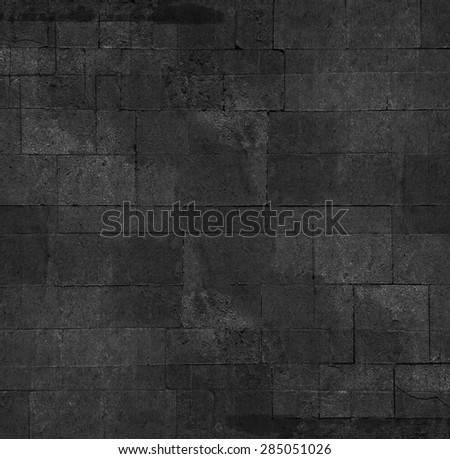 stone tiled wall - stock photo