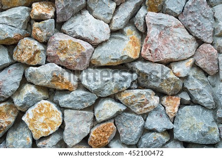 stone wall background, wallpaper texture - stock photo