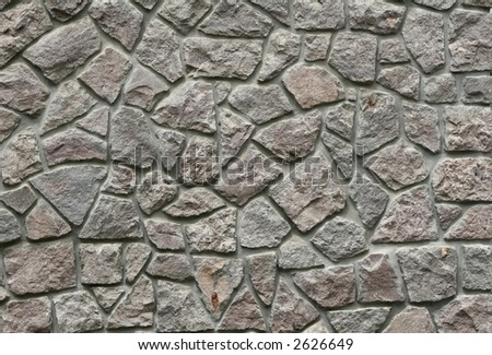 Stone wall bakcground