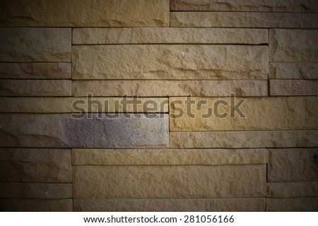 Stone wall, for background or texture.