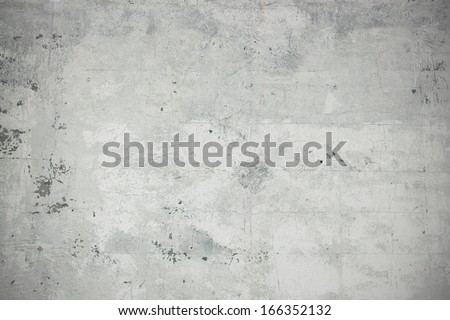 Stone wall from plaster - stock photo
