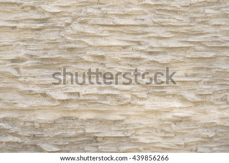 stone wall plaster . convex pattern gray plaster . stone texture - stock photo