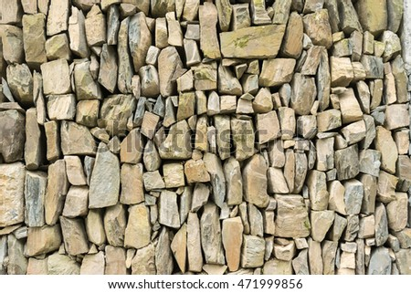 stone wall texture in china