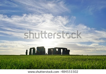 STONEHENGE, UK- 10 SEP 2016- The Stonehenge prehistoric monument in Wiltshire, England has been designated a World Heritage Site by UNESCO.