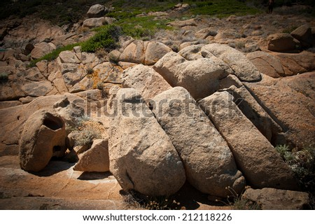 stones and rock background