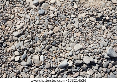 stones as a background - stock photo
