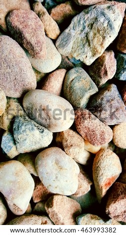 stones as background in different colors and shapes