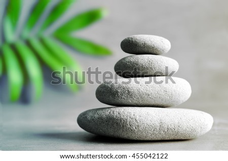 Stones balance. Zen and spa concept. - stock photo