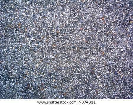Stones wall abstract background - stock photo
