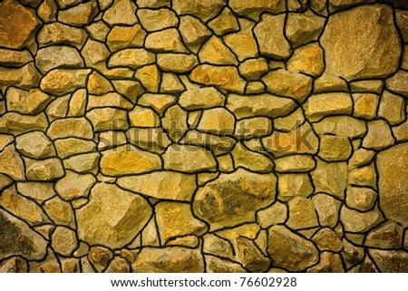 Stonework abstract background texture - stock photo