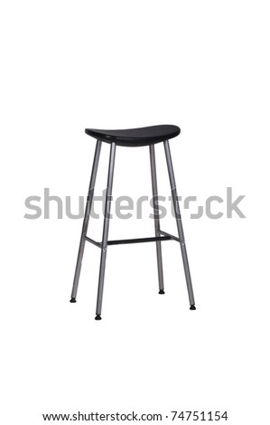 Stool on White Background
