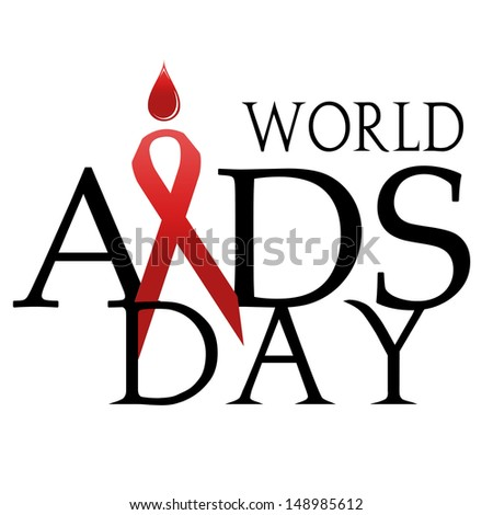 Stop AIDS. - stock photo