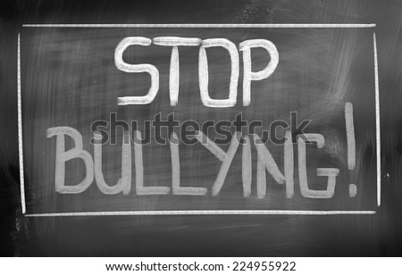 Stop Bullying Concept - stock photo