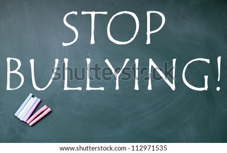 stop bullying title