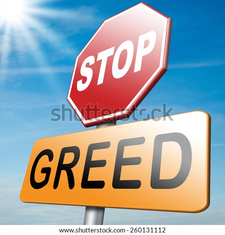 stop greed fair trade solidarity