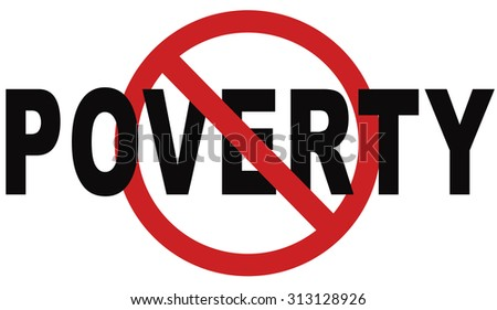 stop poverty give and donate to charity giving a helping hand - stock photo