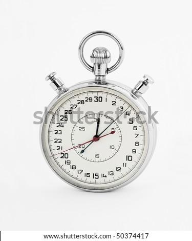 Stopwatch - stock photo