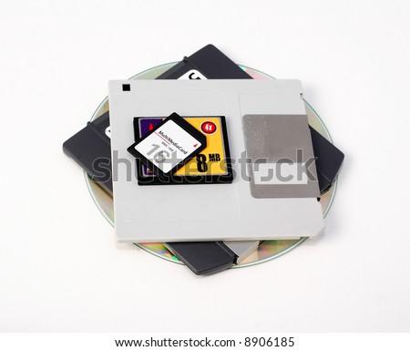 Storage Devices - stock photo