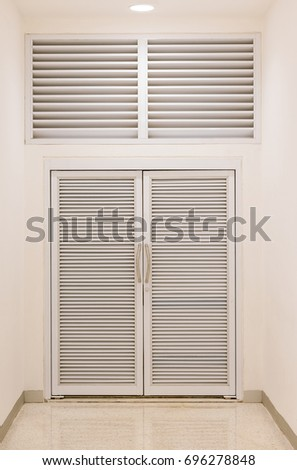 Storage door with air ventilation.  sc 1 st  Shutterstock & Storage Door Air Ventilation Stock Photo \u0026 Image (Royalty-Free ...