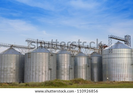 Storage tanks for grain and oil products