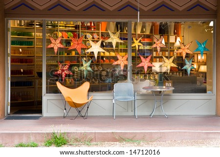 Store front - stock photo