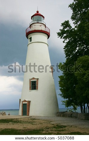 Storm approaching the Lighthouse