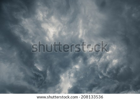 Storm Clouds 2 - stock photo