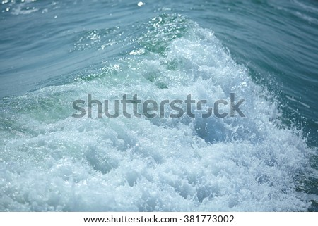 storm sea - stock photo