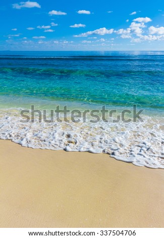 Storm Tide Surf  - stock photo