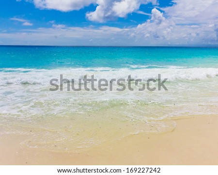 Storm Waters Tide  - stock photo